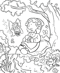 Secret Garden Colouring Pages Pdf Daisy Flower Coloring Page Full Size