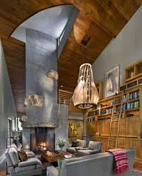 Incredible Rustic Interior Design Ideas With Yet Contemporary House