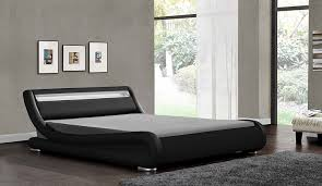 Amazon Uk King Size Headboards by Led Headboard Bed Double King Size Black White Brown Faux Leather