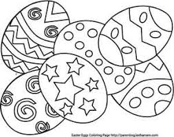 Creative Designs Easter Coloring Sheet Pages