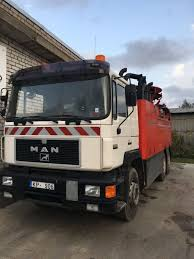 Sewer Truck MAN 26.422 With Pipe Rinse And Suction Machine SUPER ...