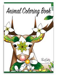 Printable Animal Adult Coloring Book