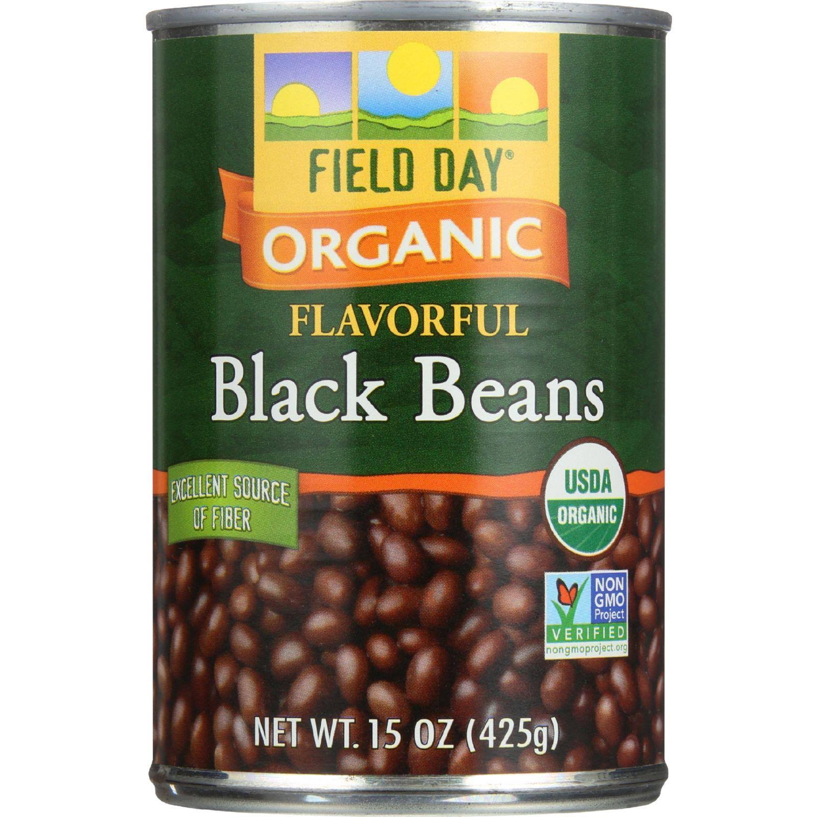 Field Day Black Beans - 15 oz