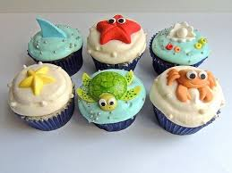 Under The Sea Cupcakes For Kids Charity Wonderful Craft To Accompany Book Who Made You Childrens Crafts Home Schooling