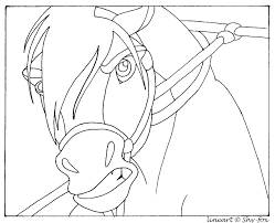 Spirit Stallion Of The Cimarron Coloring Pages Free