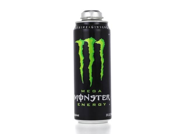 Monster Energy Drink, Mega - 24 fl oz