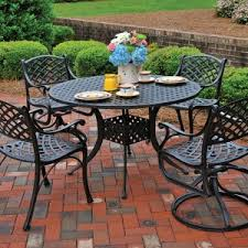Cast Aluminum Outdoor Sets by Patio Furniture Beautiful Patio Furniture Backyard Patio Ideas As
