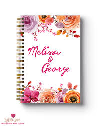 Personalised Wedding Planner Book Archives