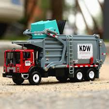 100 Model Toy Trucks New 1 Pc 124 Scale Diecast Material Transporter Garbage KDW