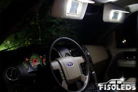 2004 08 f 150 front interior vanity mirror led light kit