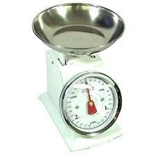 balance de cuisine à aiguille balance de cuisine a aiguille métal blanc vintage 3 kg