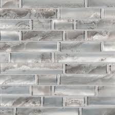 image result for shimmer glass tile backsplash a kitchen