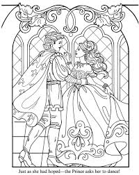 Prince And Princess Coloring Page Inkspired Musings Crayons To The Rescue