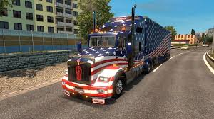 MEGA AMERICAN TRUCK PACK V1.0 TRUCKS FOR ETS2 - ETS2 Mod