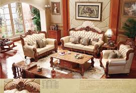 türkische braun und weiß voll leder sofa set massivholz möbel moderne wohnzimmer sofas möbel sets