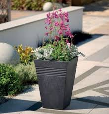 Outdoor Patio Plant Stands by Plastic Garden Planters Flowers Plant Stand Balcony Patio Planter