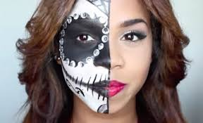 Easy Sugar Skull Day Of by The 15 Best Sugar Skull Makeup Looks For Halloween Halloween
