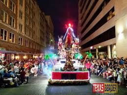 Parade Float Decorations In San Antonio by Mcallen Holiday Parade Float Lights Up Flambeau Parade Texas