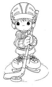 Hockey Coloring Pages Your Toddlers Make It Look Fun And Exciting By Using Some