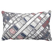 Decorative Lumbar Pillows For Bed by Layouts Decorative Lumbar Pillow Diagonal Layers Red Half Concept