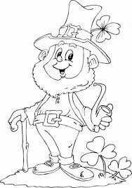 28 Free Saint Patricks Day Coloring Pages For Kids Printable