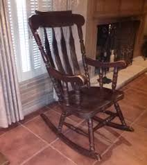 Early 20th Century Walnut Rocking Chair | Collectors Weekly