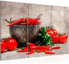 runa küche gemüse bild wandbilder wohnzimmer rot