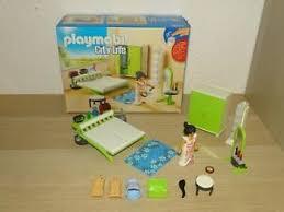 details zu playmobil city schlafzimmer mit licht 9271