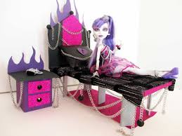 how to make a spectra vondergeist doll bed tutorial monster high
