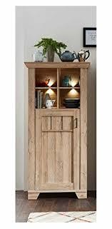 schrank stauraumelement kommode sideboard anrichte highboard wohnzimmerschrank eiche hell gran oak