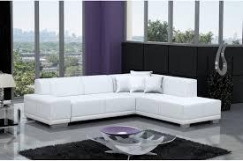 canapé design blanc canap design blanc canap duangle cuir albi choisissez votre couleur