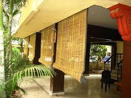 Vinyl Roll Up Patio Shades by Best Outdoor Bamboo Shades Ideas U2014 Jen U0026 Joes Design