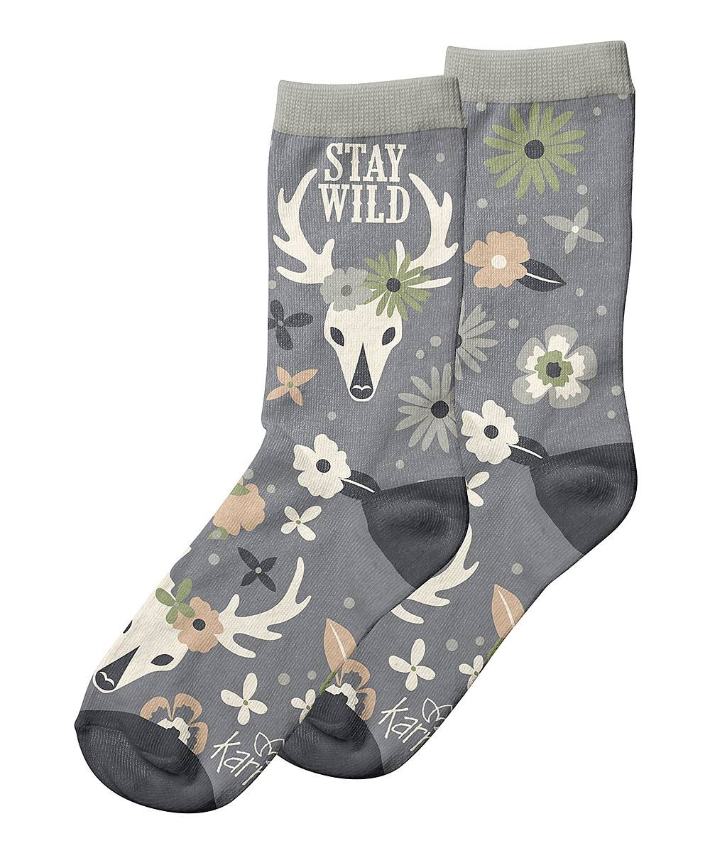 Karma Ladies Socks Deer