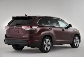 2013 Toyota Highlander Captains Chairs by Test Drive 2016 Toyota Highlander Limited Review Car Pro