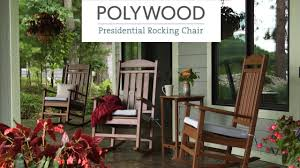 Polywood Presidential Rocking Chair Video | WebstaurantStore Rocking Chairs Made Of Wood And Wicker Await Visitors On The Front Tortuga Outdoor Portside Plantation Chair Dark Roast Wicker With Tan Cushion R199sa In By Polywood Furnishings Batesville Ar Sand Mid Century 1970s Rattan Style Armchair Slim Lounge White Gloster Kingston Chair Porch Stock Photo Image Planks North 301432 Cayman Islands Swivel Padmas Metropolitandecor An Antebellum Southern Plantation Guildford