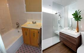 Pleasant Bathroom Renovations Before And After Cute