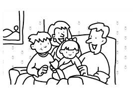 Family Coloring Pages For Kids