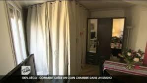 comment cr馥r une chambre dans un salon créer un coin chambre dans un studio minutefacile com