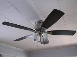 kitchen ceiling fans flush mount ceiling fans with