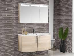 scanbad modern badmöbel set 1200 mm 2 türen spiegelschrank