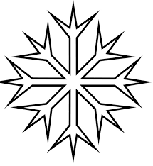 Snowflake Pictures To Color Pages Coloring