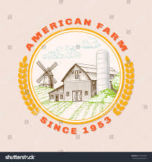 American Farm Barn Agriculture Windmill Logo Stock Vector ... Farm Animals Living In The Barnhouse Royalty Free Cliparts Stock Horse Designs Classy 60 Red Barn Silhouette Clip Art Inspiration Design Of Cute Clipart Instant Download File Digital With Clipart Suggestions For Barn On Bnyard Vector Farm Library