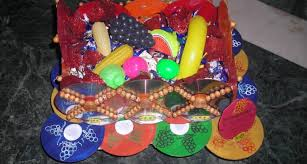 Anu Art Crafts Best Out Waste Fruit Basket Side