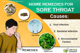 9 Best Home Reme s For Sore Throat