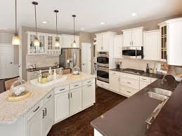 Ryland Homes Floor Plans Georgia by Contrasting Countertops And Glass Fronted Cabinets Are Memorable