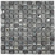 black square mosaic tile furniture home decor