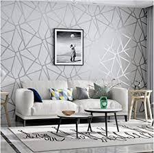 grau thema 3d mode geometrische dreieck tapeten modernes