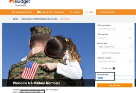 100 Budget Truck Coupon Code All About Military Discount 20 Off Car And Rental Www