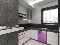 Exciting Interior Lighting Design Of Kitchen Block