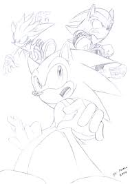 Prismacolor Speed Draw Metal Sonic Sonic Universe YouTube